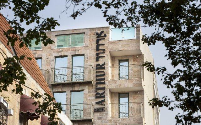 Arthur Hotel - An Atlas Boutique Hotel Иерусалим вид на фасад