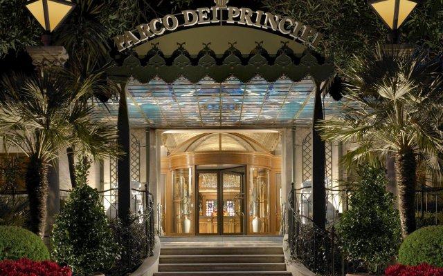 Parco Dei Principi Grand Hotel & Spa Рим вид на фасад