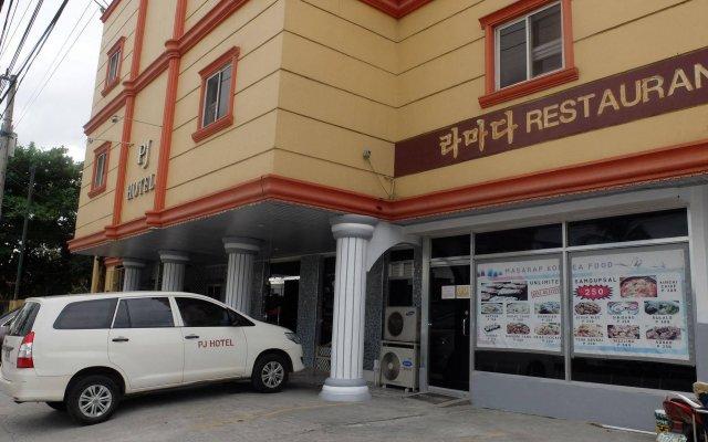 Отель OYO 700 Pj Inn Hotel Филиппины, Пампанга - отзывы, цены и фото номеров - забронировать отель OYO 700 Pj Inn Hotel онлайн вид на фасад