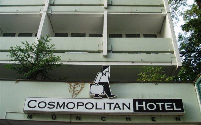 Cosmopolitan Hotel Munich вид на фасад