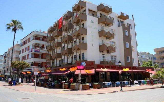 Aslan Corner Hotel вид на фасад