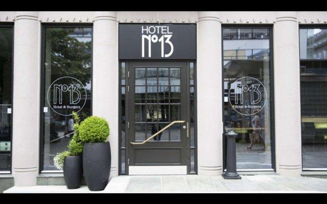 Hotel No13 Берген вид на фасад