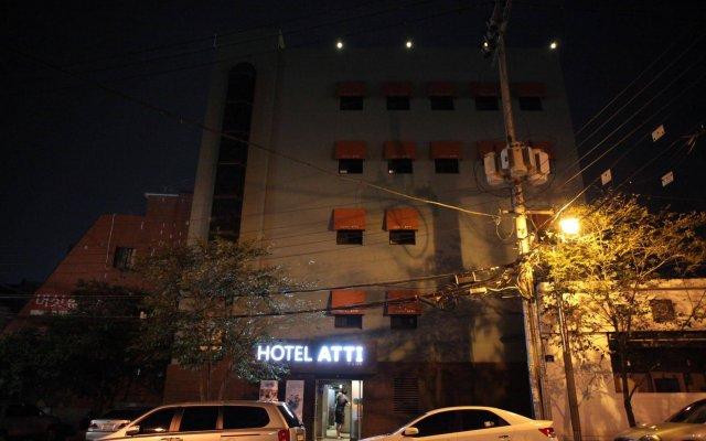 Отель Atti Guesthouse вид на фасад