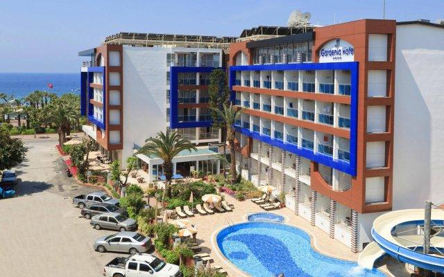 Gardenia Hotel Аланья вид на фасад