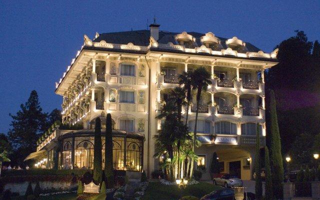 Отель Villa e Palazzo Aminta Hotel Beauty and SPA Италия, Стреза - отзывы, цены и фото номеров - забронировать отель Villa e Palazzo Aminta Hotel Beauty and SPA онлайн вид на фасад