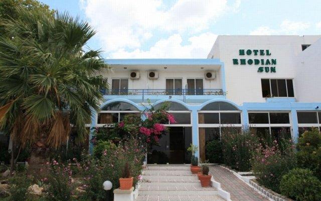 Отель Rhodian Sun Греция, Петалудес - отзывы, цены и фото номеров - забронировать отель Rhodian Sun онлайн вид на фасад