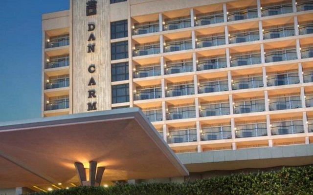 Отель Dan Carmel Хайфа вид на фасад