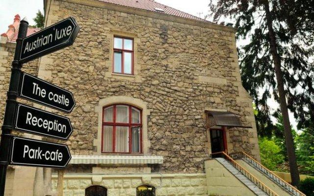 Гостиница Замок Льва вид на фасад