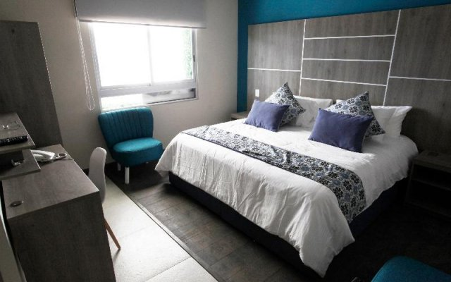 Апартаменты Capital's St Luxury Apartments Мехико комната для гостей