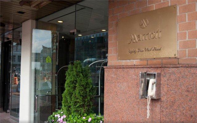 Отель New York Marriott Downtown США, Нью-Йорк - отзывы, цены и фото номеров - забронировать отель New York Marriott Downtown онлайн вид на фасад
