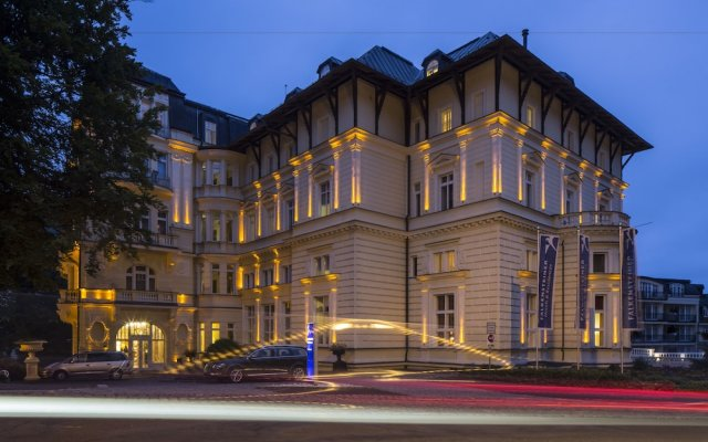 Falkensteiner Hotel Grand MedSpa Marienbad вид на фасад