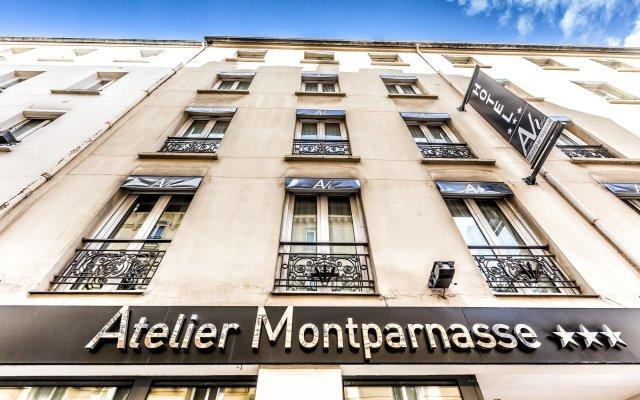 Отель Atelier Montparnasse Hôtel вид на фасад