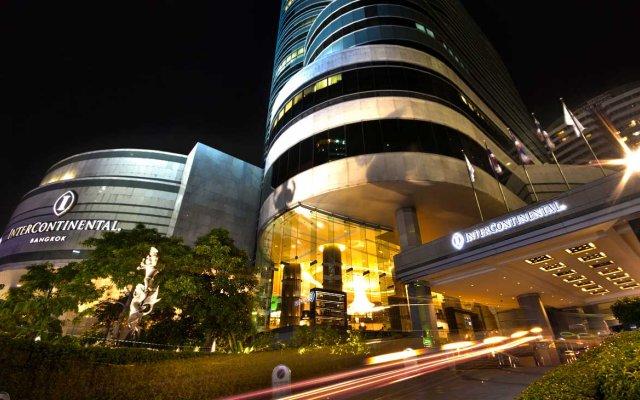 Отель Intercontinental Bangkok Бангкок вид на фасад