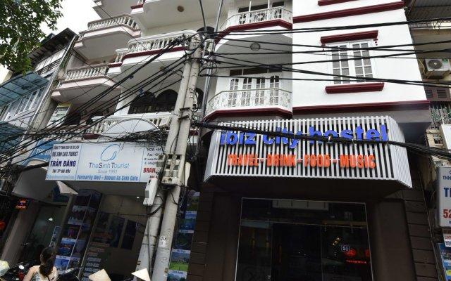 Отель Ibiz City Hostel Вьетнам, Ханой - отзывы, цены и фото номеров - забронировать отель Ibiz City Hostel онлайн вид на фасад