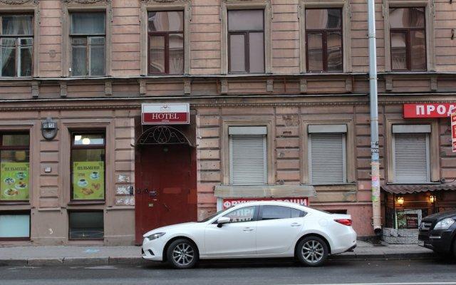 Мини-Отель Ринальди Поэтик вид на фасад