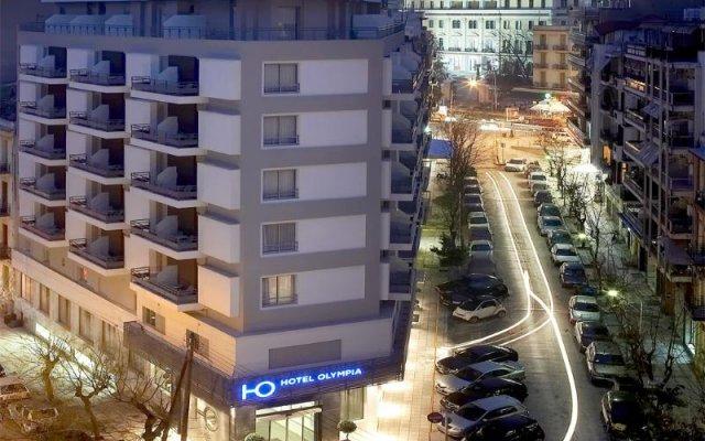 Отель Olympia Thessaloniki Греция, Салоники - 2 отзыва об отеле, цены и фото номеров - забронировать отель Olympia Thessaloniki онлайн вид на фасад