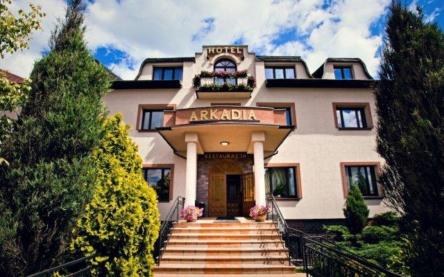 Отель Arkadia вид на фасад