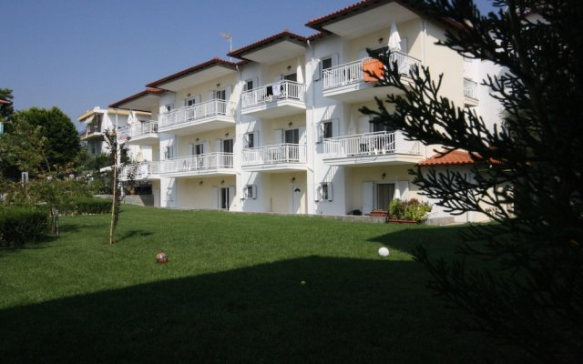 Апартаменты Pavloudis Apartments вид на фасад