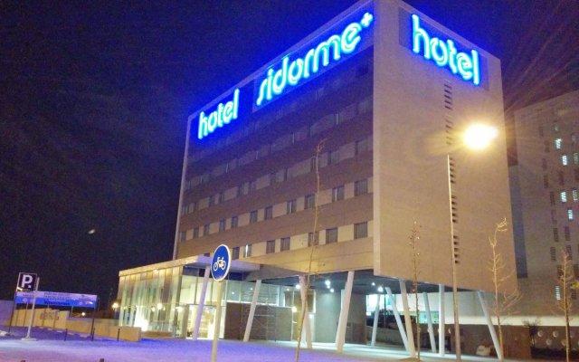 Отель Sidorme Viladecans вид на фасад