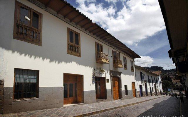 Отель Best Western Los Andes de América вид на фасад