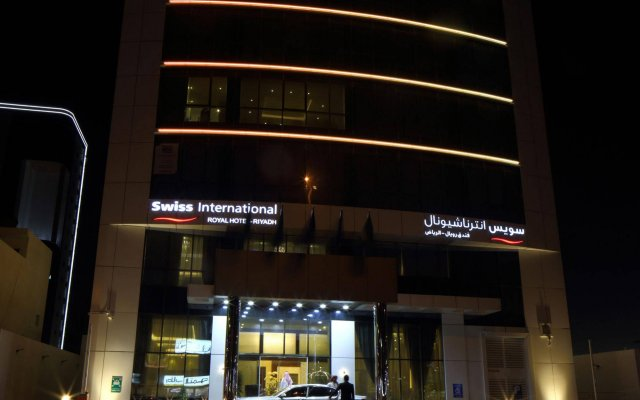 Swiss International Royal Hotel Riyadh вид на фасад