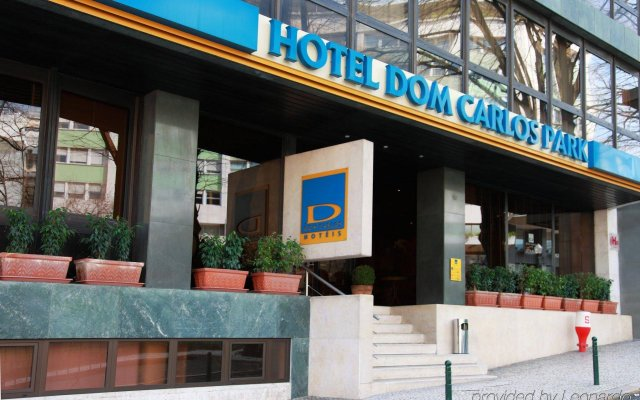 Отель Dom Carlos Park Лиссабон вид на фасад