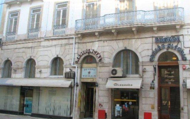 Отель Grande Pensão Alcobia Португалия, Лиссабон - - забронировать отель Grande Pensão Alcobia, цены и фото номеров вид на фасад