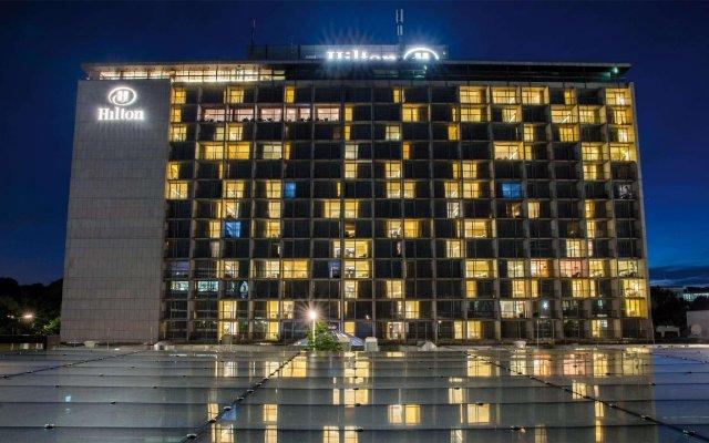 Отель Hilton Munich Park вид на фасад