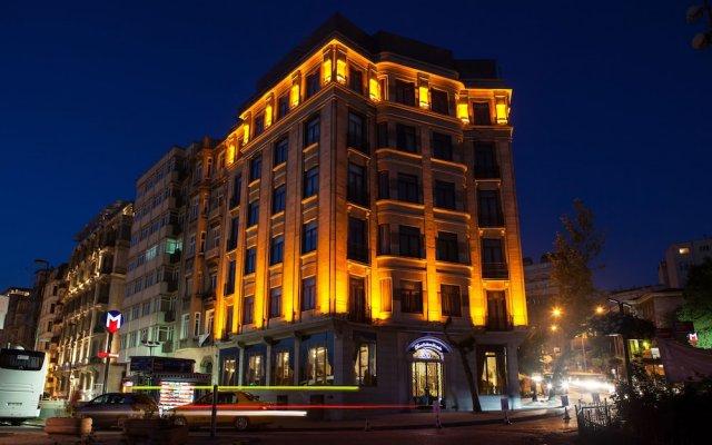 Отель DaruSultan Galata вид на фасад