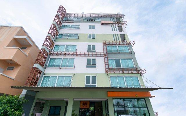 Отель iLife Residence Phuket Таиланд, Бухта Чалонг - отзывы, цены и фото номеров - забронировать отель iLife Residence Phuket онлайн вид на фасад
