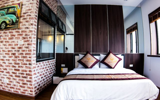 Апартаменты Maxshare Hotels & Serviced Apartments вид на фасад
