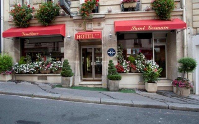 Отель Vendome-Saint Germain Hotel Франция, Париж - отзывы, цены и фото номеров - забронировать отель Vendome-Saint Germain Hotel онлайн вид на фасад