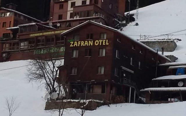 Отель Zafran Otel вид на фасад