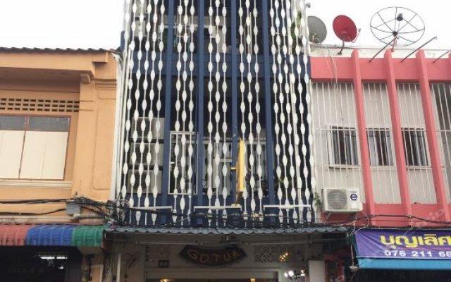 Отель Gotum Hostel & Restaurant Таиланд, Пхукет - отзывы, цены и фото номеров - забронировать отель Gotum Hostel & Restaurant онлайн вид на фасад