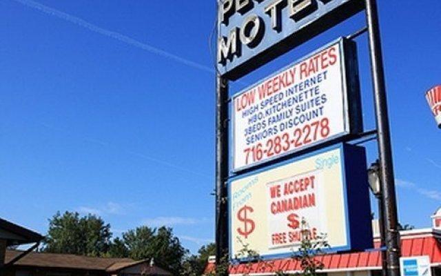 Отель Pelican Motel США, Ниагара-Фолс - отзывы, цены и фото номеров - забронировать отель Pelican Motel онлайн вид на фасад