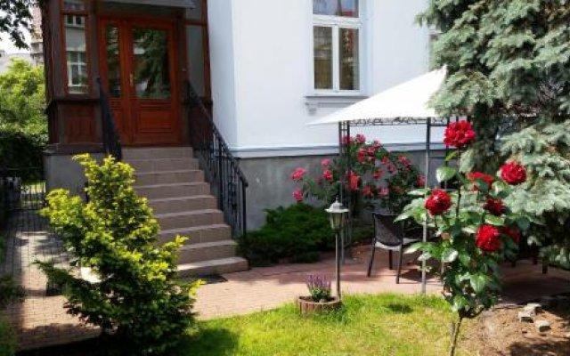 Апартаменты Sopot Roza Apartments Сопот вид на фасад