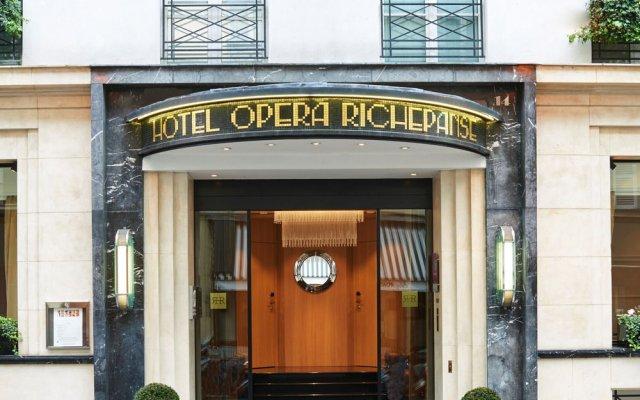 Отель Hôtel Opéra Richepanse вид на фасад