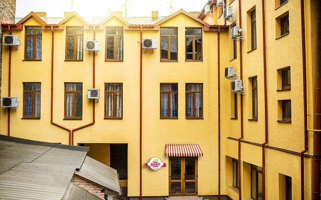 Гостиница Jam Lviv вид на фасад