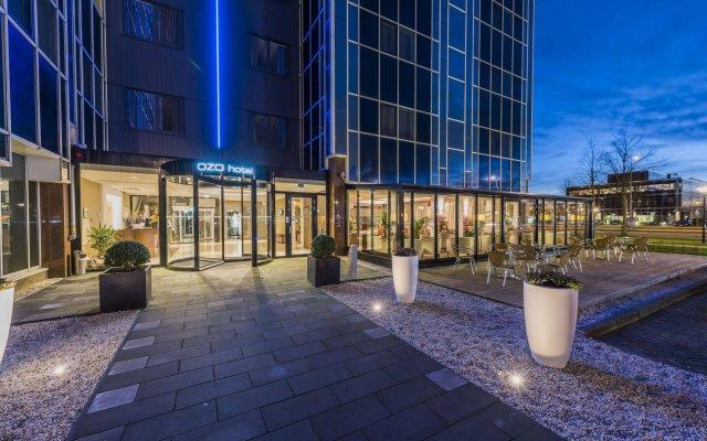 Отель Ozo Hotel Нидерланды, Амстердам - 9 отзывов об отеле, цены и фото номеров - забронировать отель Ozo Hotel онлайн вид на фасад