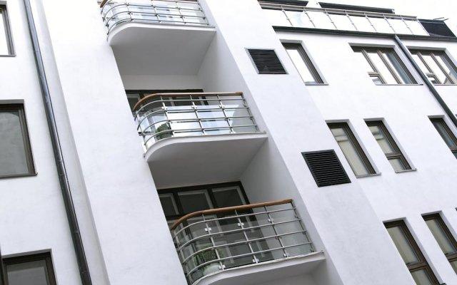 Hotel Fabian вид на фасад