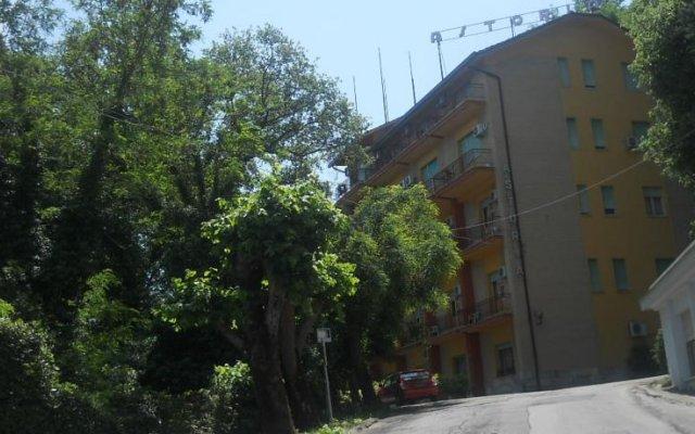 Отель Albergo Astoria Кьянчиано Терме вид на фасад