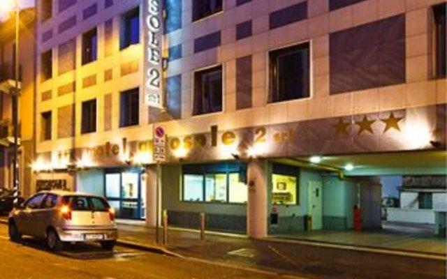 Отель Motel Autosole 2 Милан вид на фасад