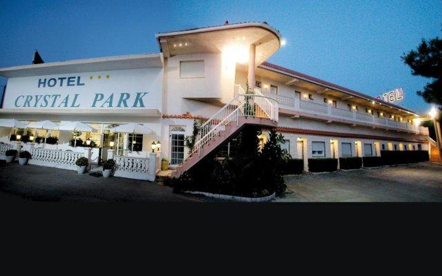 Hotel Crystal Park вид на фасад
