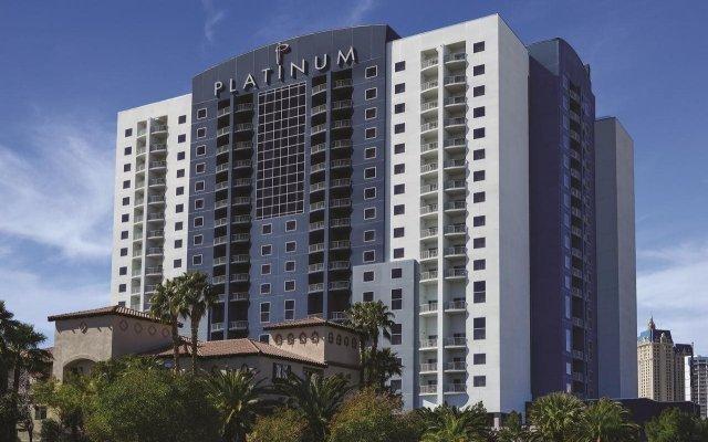 Отель Platinum Hotel and Spa США, Лас-Вегас - 8 отзывов об отеле, цены и фото номеров - забронировать отель Platinum Hotel and Spa онлайн вид на фасад
