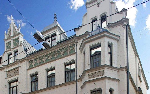 Rixwell Terrace Design Hotel Рига вид на фасад