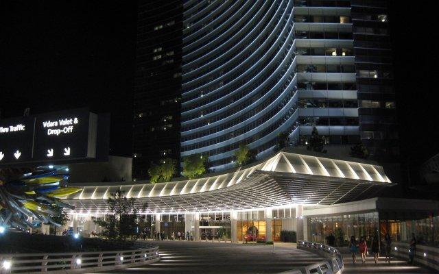 Отель Deluxe Suite at Vdara США, Лас-Вегас - отзывы, цены и фото номеров - забронировать отель Deluxe Suite at Vdara онлайн вид на фасад