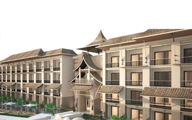 Отель Aurico Kata Resort And Spa пляж Ката вид на фасад