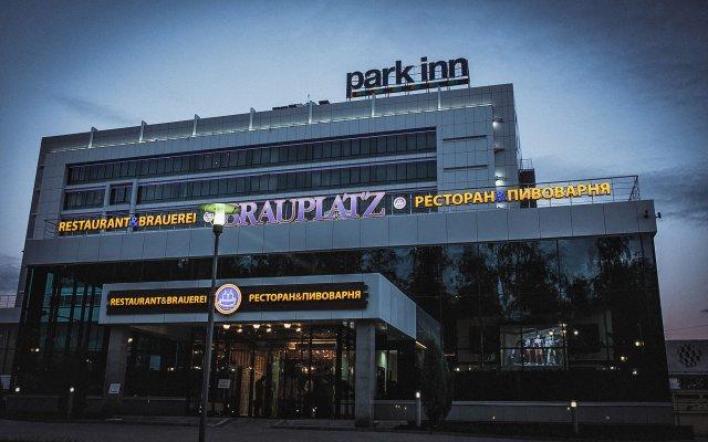 Гостиница Park Inn by Radisson Ижевск вид на фасад