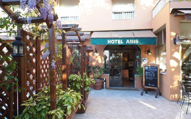 Anis Hotel вид на фасад