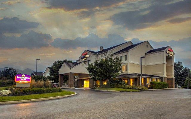Отель Springhill Suites Columbus Airport Gahanna США, Гаханна - отзывы, цены и фото номеров - забронировать отель Springhill Suites Columbus Airport Gahanna онлайн вид на фасад